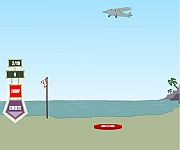 Daffy skydiving gra online