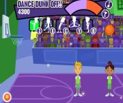 Dance Dunk-off gra online
