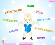 Dress Up a Baby Boy or Girl gra online