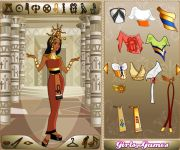 Egyptian Queen Dress Up gra online