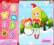Girls Go Christmas Dress Up gra online