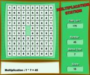 Multiplication gra online