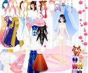 Old Gown Dress Up gra online