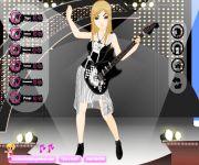 Rock Girl Dress Up gra online