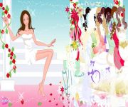 Rose Bride Dress Up gra online