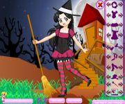 Student Witch Dress Up gra online