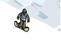 Triki na snowboardzie gra online