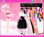Umbrella Gown Dress Up gra online