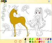 Unicorn Coloring gra online