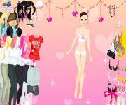 Valentine Girl Dress Up gra online
