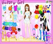 Victory Girl Dress Up gra online