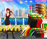 Weather Girl Dress Up gra online